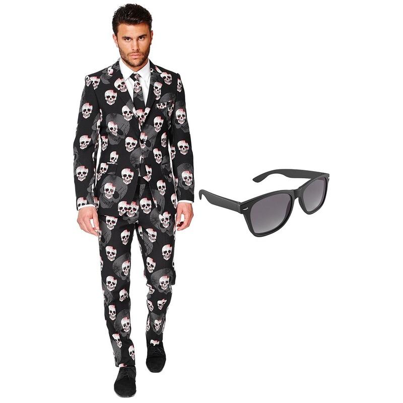 df0904cf24d Toppers Halloween heren kostuum maat 56 (XXXL) met gratis zonnebril ...