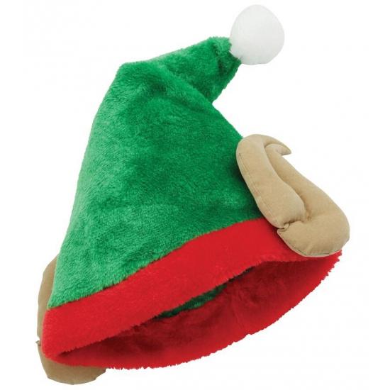 Vert Chaussures Elfe De Noël Multi Tissu YYTzM