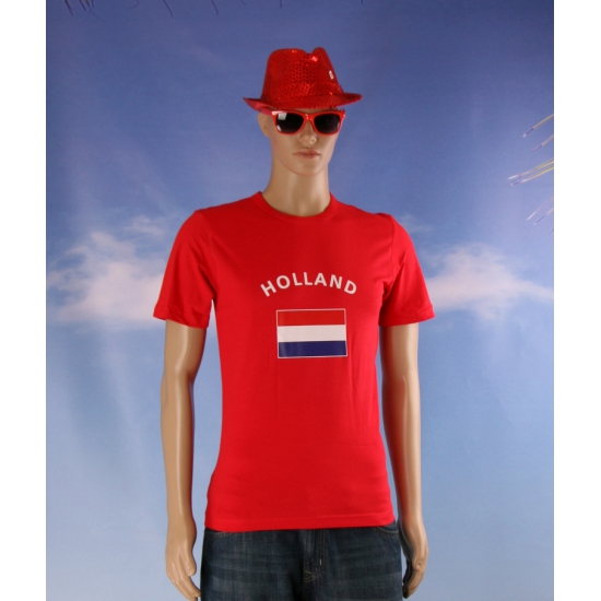 Toppers 2014 Rood Toppers t-shirt vlag Holland