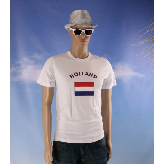 Toppers 2014 Wit Toppers t-shirt vlag Holland