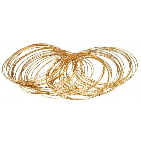 50 gouden bangle armbanden