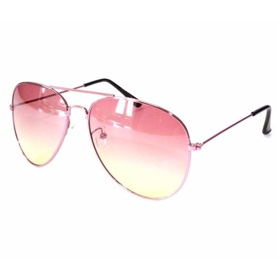 cd29c5af3b2c6c Toppers Roze dames piloten zonnebril model 1357 - Toppers Happy ...